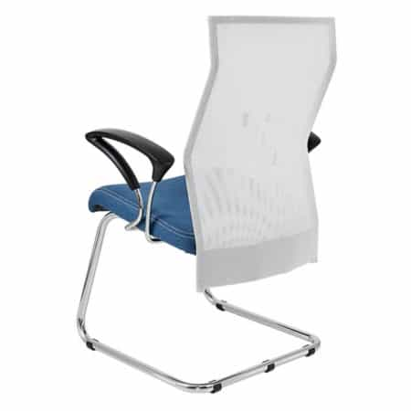 Exodus visitors chair back view with Y600 armrests