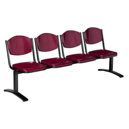 RBTU13 1/2/3/4 OR 5 seater bench ( 4 seater shown )