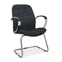 Morant chrome arm chair