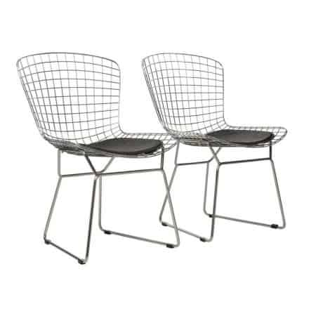 Diamond mesh chairs
