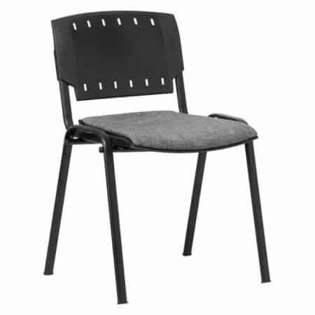 Sigma chair with plastic seat