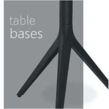 Cafe & bar table bases