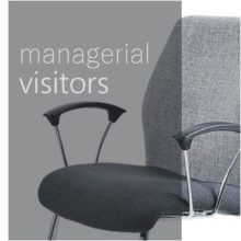 Managerial visitors - upholstered