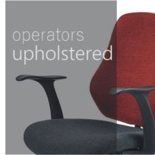 Operators chairs - upholstered