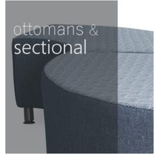 Ottomans and sectional seating